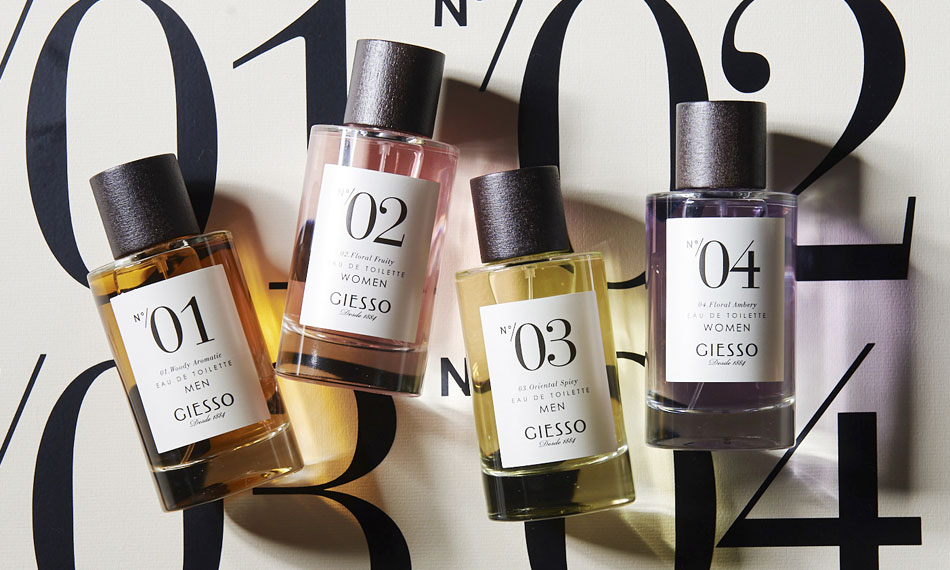 Giesso Fragrances - The Series Collection